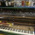 ITP:ピアノを弾くと、そのメロディーに合わせてカクテルを作ってくれるマシン。