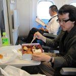 Motoi-san: Eating too much as always.