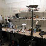 ハードウェアエンジニアの作業部屋